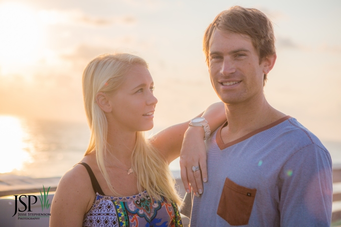 sunrise photo session at Oceanic Pier Wrightsbille beach