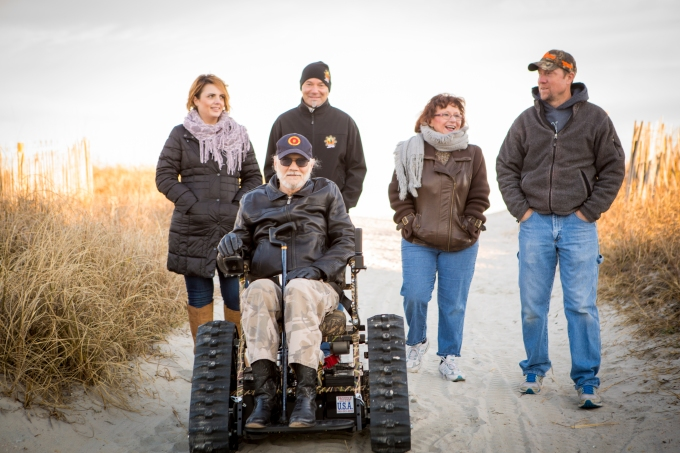 Jesse Stephenson Photography, Veterans for Mindful Recovery, Tankchair
