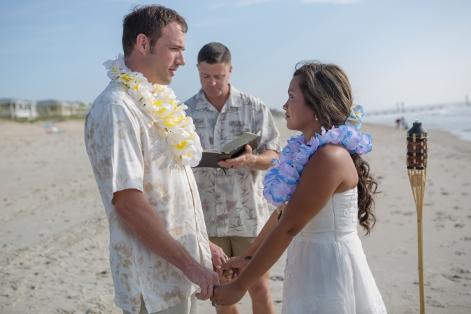 Beach Wedding, Wedding Photography, Jesse Stephenson Photography, Outdoor Wedding