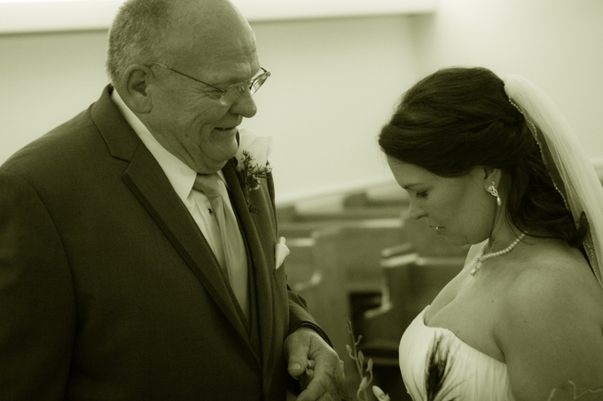 Bride and Father, Wedding Photography, Jesse Stephenson Photography